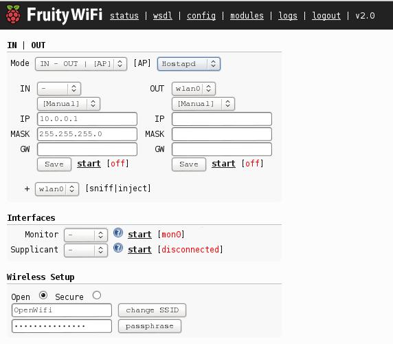 FruityWiFi